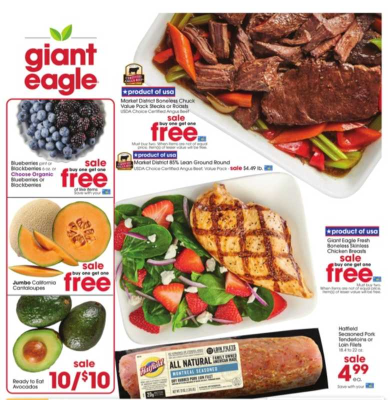 Giant Eagle - deals are valid from 08/05/21 to 08/11/21 - page 1.