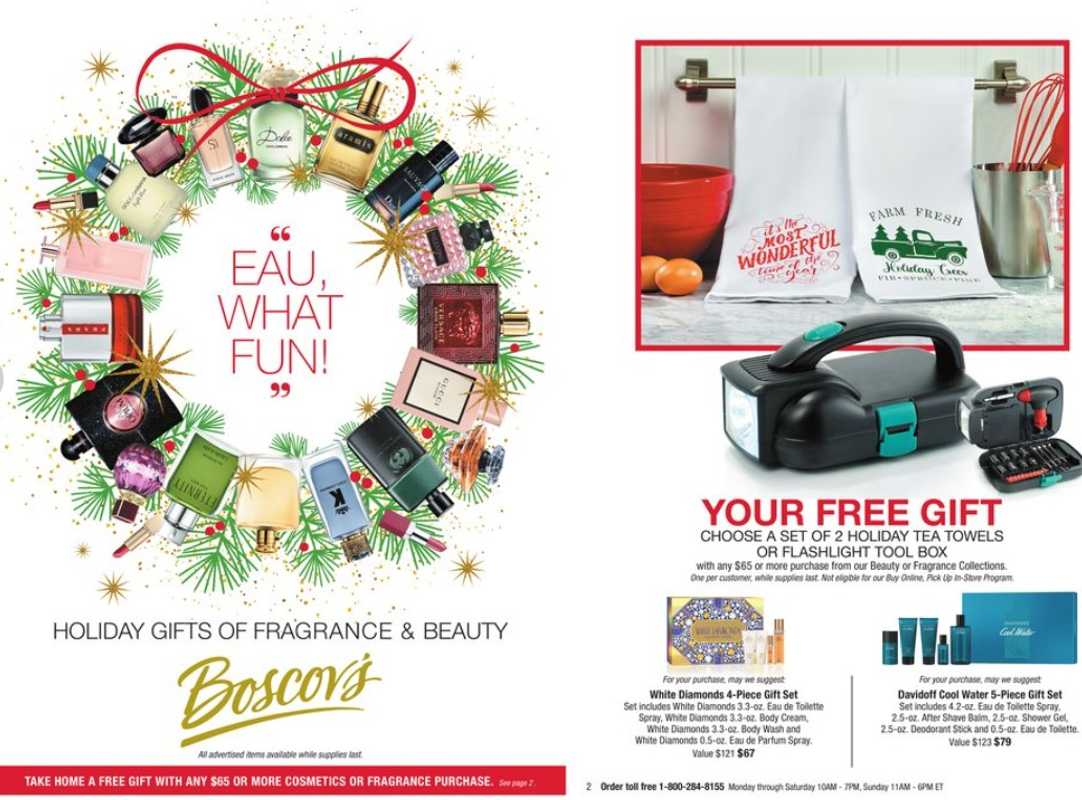 Boscov's - deals are valid from 11/30/20 to 12/15/20 - page 1.